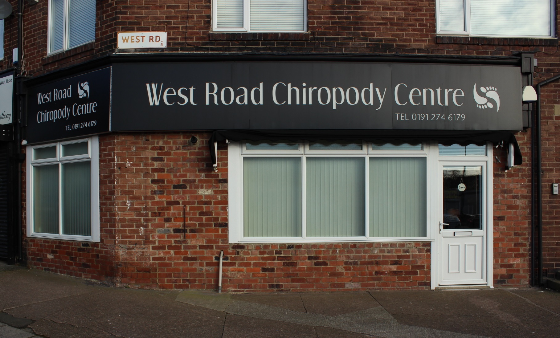 West Road Chiropody Centre Store Front